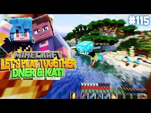 WIR FLIEGEN ZUSAMMEN ÜBER DIE GANZE MAP | Minecraft mit Kati & Dner #115