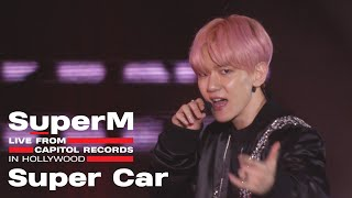[4K] SuperM 슈퍼엠 'Super Car' @Live From Capitol Records in Hollywood