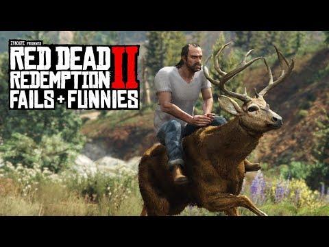Red Dead Redemption 2 - Fails & Funnies #46 thumbnail