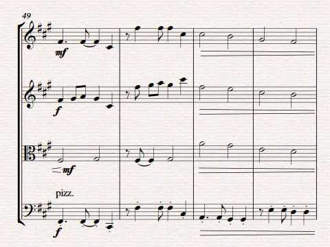 GCSE Composition #2 - Rondo Allegro in A 30/30 (Full marks) A*