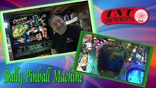 #1133 Bally CREATURE from the BLACK LAGOON Pinball Machine - TNT Amusements