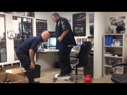 Harbor Freight Cathedral City MustangMedic work stools