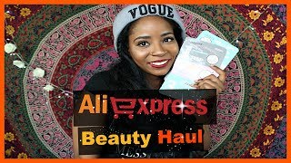 ALIEXPRESS HAUL - Skincare & Beauty