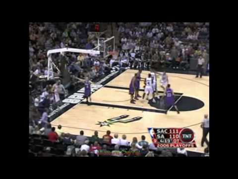 Brent Barry 22 Points Vs. Sacramento, 2006 Playoffs, Game 2.
