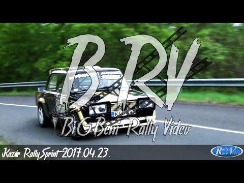 Kazár RallySprint 2017.04.23. [PURE SOUND - CRASH/action/mistakes]