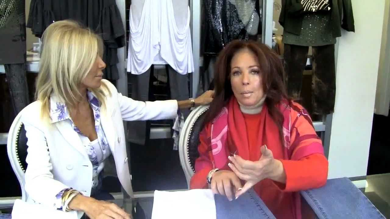 Fab At Any Age Interview With Hsn Qvc Diane Gilman On Her Boomer Jeans Youtube
