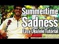 Summertime Sadness Ukulele Tutorial Lana Del Rey Uke Lesson mp3