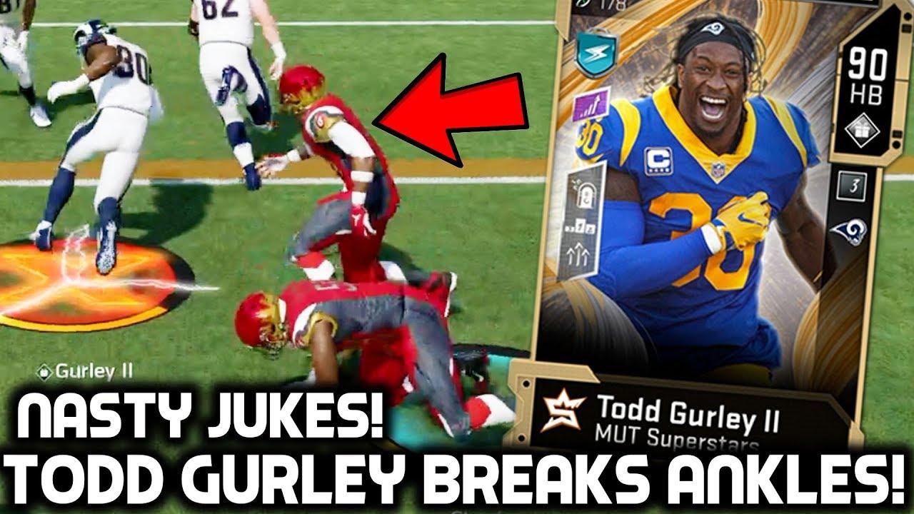 Todd Gurley Breaks Ankles Jukes Everybody Madden 20 Ultimate Team Youtube