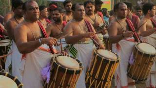 Pandi Melam, Chenda, Mattannur Sankarankutty, Kerala, Festival