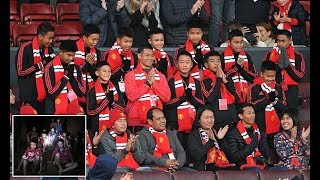 Thai cave boys attend Manchester United match as guests of honour - Daily News