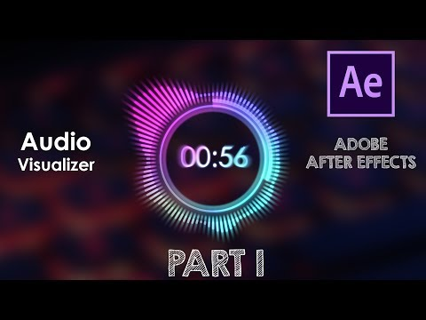 Audio Visualizer | After Effects | No Third Party Plugin | Tutorial | Part 1