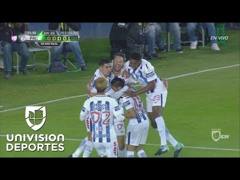¡GOL! Omar González   Pachuca 1-0 Atlante   Copa MX