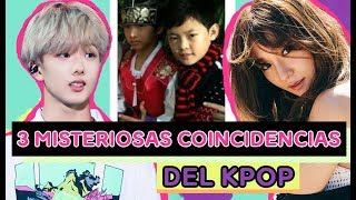 3 Misteriosas Coincidencias del K-Pop - IMPACTANTE !!