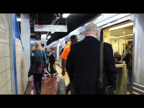 SEPTA Market-Frankford Line Frankford Bound B Train @ 30th Street Station