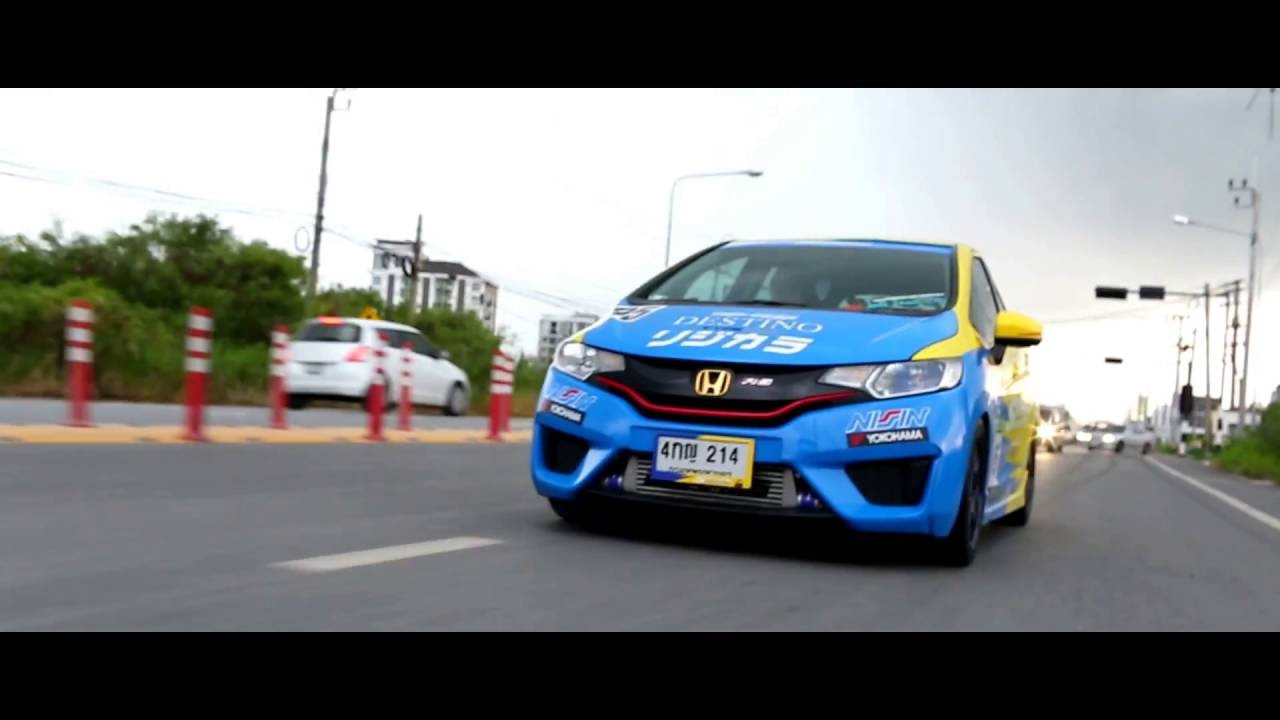 Honda Jazz Gk Spoon Sports Turbo Youtube