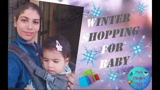 Winter Clothing Haul for Baby | Miniso Haul | ft.Baby Avika
