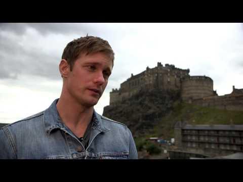 Alexander Skarsgård answers fans' questions at the Edinburgh International Film Festival