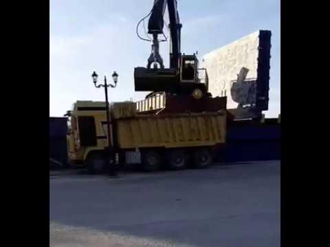 Mineral Trade LTD ©️Silica Sand unloaded for Golf Dunes,Costa Navarino