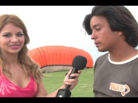 Parapentes en San Pedro - Santa Elena Ecuador ITV