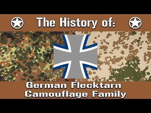 The History Of: The German Flecktarn Camouflage Family | Uniform History