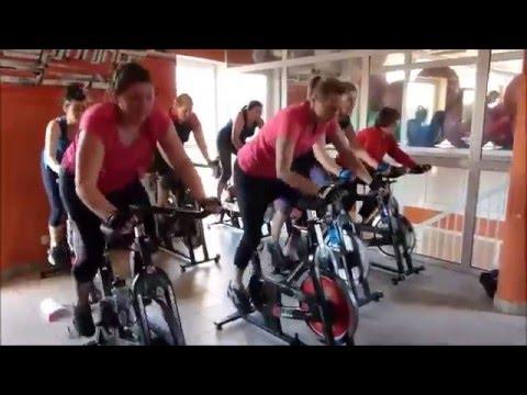 Spinning W Olsztynie. Trener Beata Bertolassi