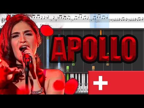 Timebelle - Apollo (Switzerland 2017) Piano tutorial