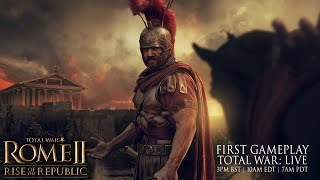 Total War: ROME II - Rise of the Republic first live gameplay