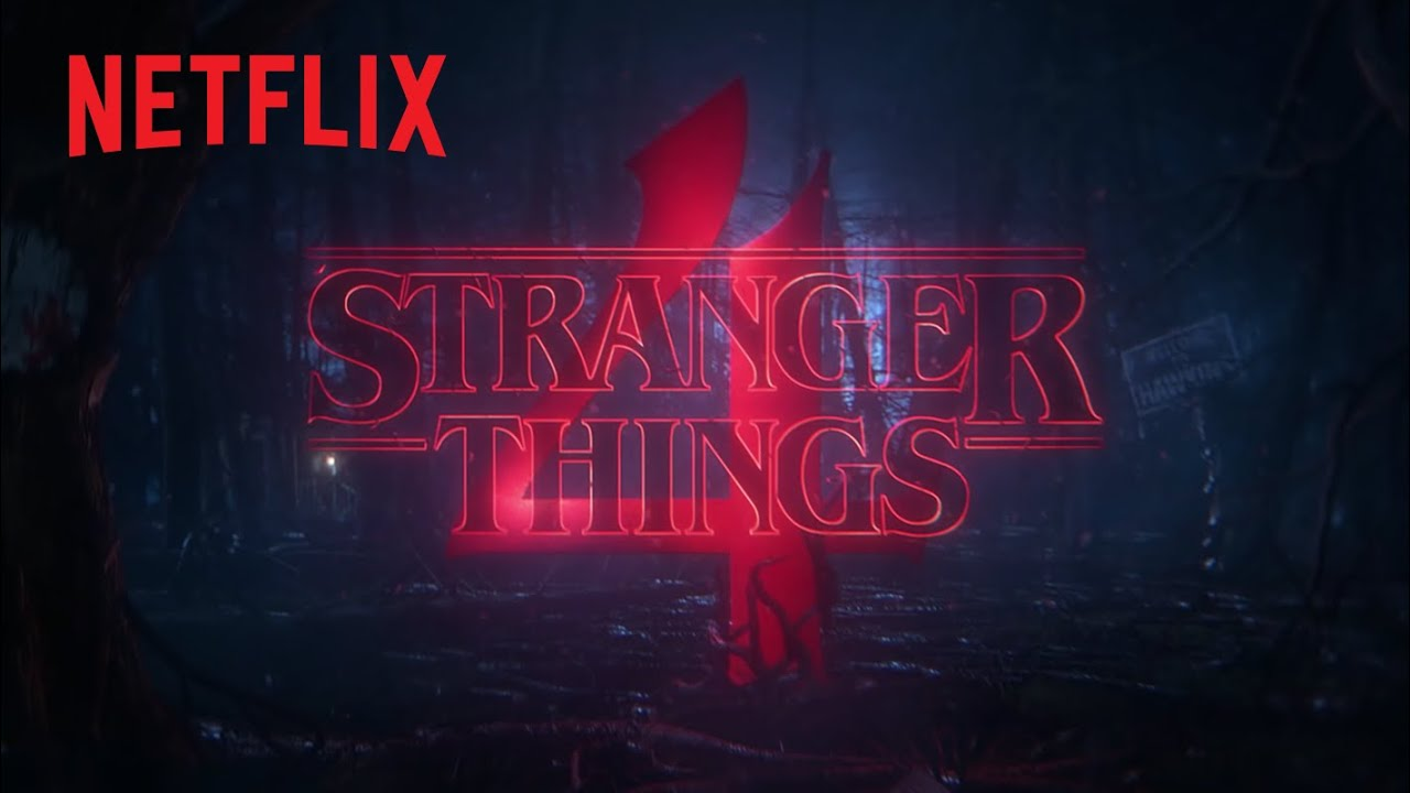 Stranger Things 4 Anúncio Oficial Youtube