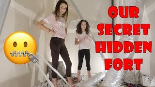 Our Secret Hidden Fort 🤐 (WK 351.5) | Bratayley