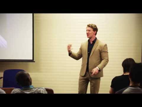 How to Innovate! Inspiring business presentation - professional speaker Douglas Kruger