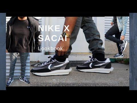Nike X Sacai LDV Waffle Lookbook (How To Style)