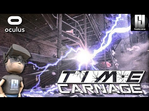 TIME CARNAGE VR - ALL LEVELS + 25 WEAPONS! // Oculus + Touch // GTX 1060 (6GB)