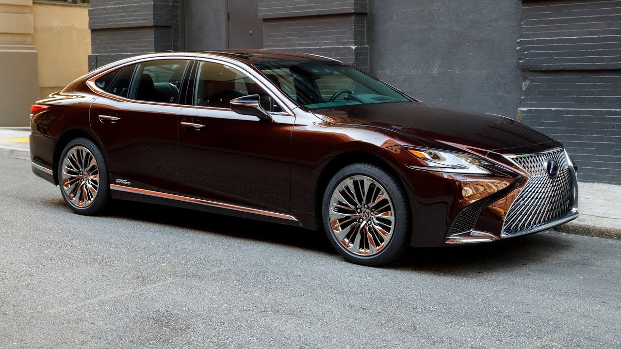 New Lexus Sedan