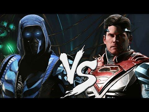 SUB-ZERO VS SUPERMAN  (Injustice 2 Versus)