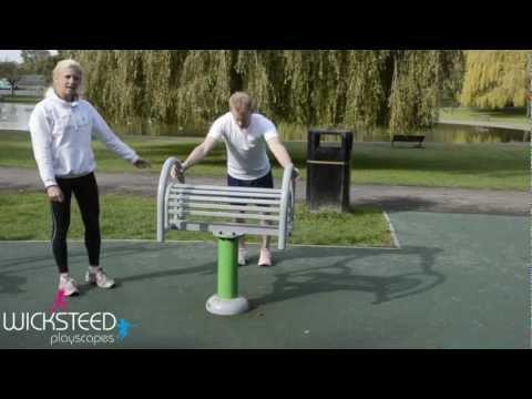 Outdoor Gym Equipment - FLZ Agility Bench