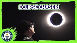 Eclipse Hunters: Most eclipses seen! - Guinness World Records