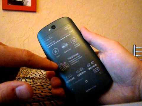 YotaPhone-2: второй экран
