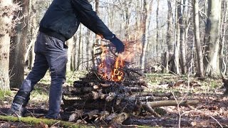 The 'Upside-down Fire' - Fire Build - HowTo