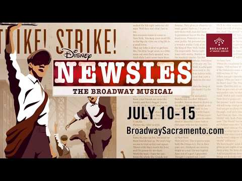 Broadway At Music Circus Night Out With NEWSIES JULY 10-15