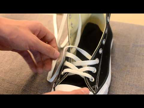 The Best Way To Tie Your Chuck Taylor's By Converse