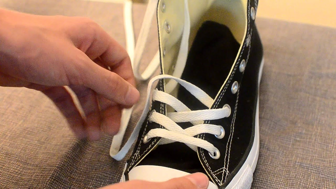 The Best Way to Tie Your Chuck Taylor's by Converse Sport