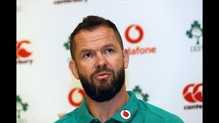 Ireland Down Under: Andy Farrell Squad Update In Melbourne
