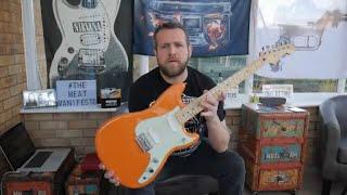 Fender Duo Sonic Capri Orange Offset Series Review Demo