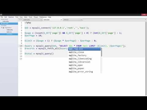 PHP - Simple Pagination In Urdu/Hindi