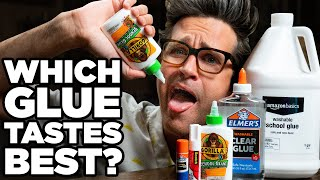 Which Glue Tastes Best? (Glue Taste Test)