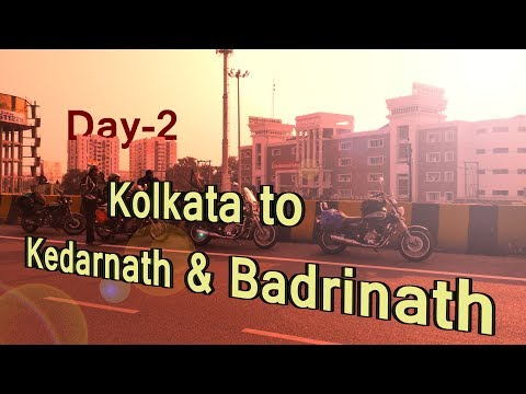 Kolkata - Kedarnath & Badrinath Ride || Day - 2 || Allahabad to Lucknow