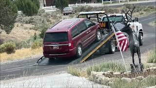 WHEN YOU'RE STUPID ! - A Kid Calls Tow Driver To Tow Away Mom's Car Without Her Knowing!