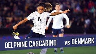 Delphine Cascarino Highlights | France vs Denmark | 08.04.2019