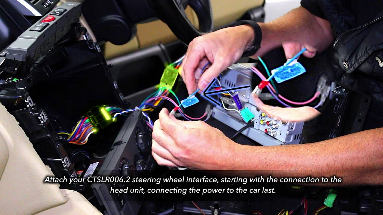 range rover sport (2006) integration kit youtube  at 2006 Range Rover Sport Wiring Harness Logic 7