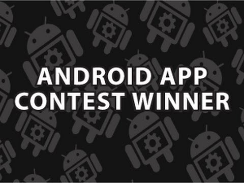Android App Contest Winner